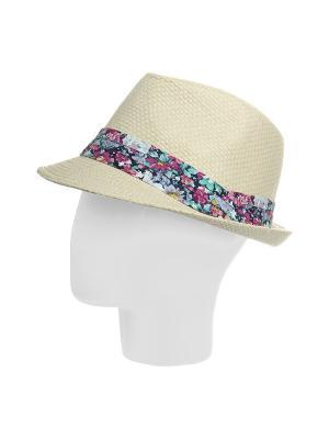 Шляпа Gusachi. Цвет: молочный, зеленый, розовый