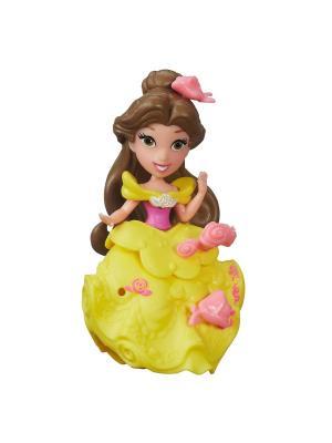Маленькая кукла-принцесса Hasbro. Цвет: коричневый, желтый
