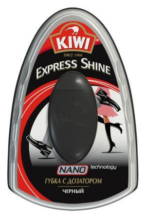 Губка с дозатором для обуви KIWI. Цвет: черный