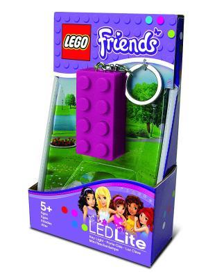 Брелок-фонарик для ключей LEGO Friends (цвет: лиловый). Цвет: лиловый