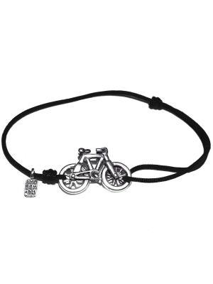 Велосипед, черный Amorem. Цвет: черный, серебристый