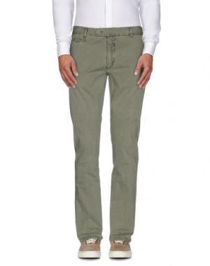 Повседневные брюки MAESTRAMI. Цвет: зеленый-милитари