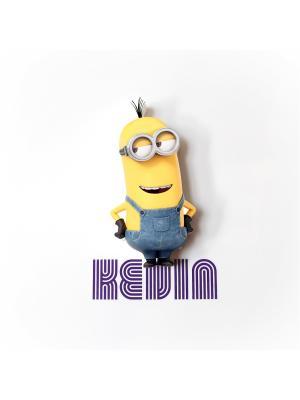Пробивной мини 3D светильник Minions-Kevin (Кевин) Minions. Цвет: черный, белый, желтый, серебристый, серо-голубой