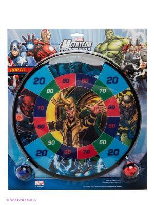 Набор для игры в дартс Мстители Marvel. Цвет: синий