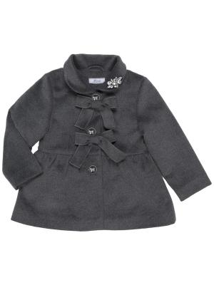 Пальто Born. Цвет: серый