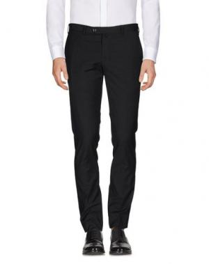Повседневные брюки EREDI RIDELLI. Цвет: стальной серый