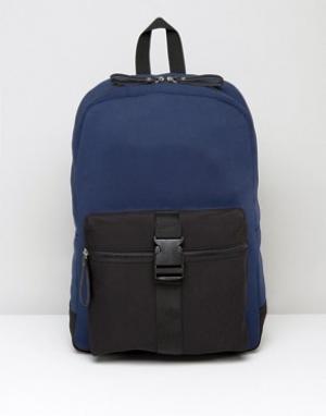 Systvm Рюкзак с пряжкой спереди. Цвет: темно-синий