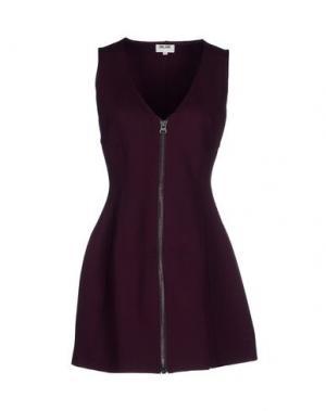 Короткое платье BELAIR. Цвет: баклажанный