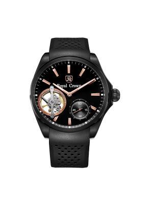 Часы Royal Crown. Цвет: черный