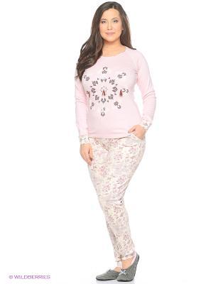 Женская пижама NICOLETTA. Цвет: розовый