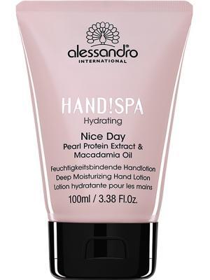 Бальзам для рук Hydrating Nice Day alessandro. Цвет: бледно-розовый