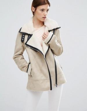 Urbancode Куртка из искусственной замши. Цвет: мульти