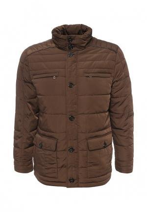 Куртка утепленная Cortefiel. Цвет: коричневый