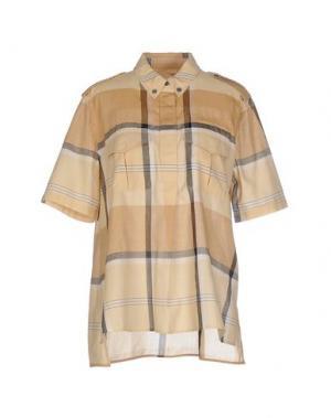 Pубашка EQUIPMENT FEMME. Цвет: верблюжий