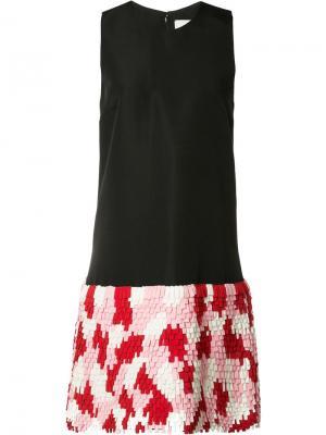 Платье Hollow Novis. Цвет: чёрный