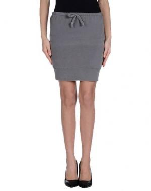 Мини-юбка CHARAPA. Цвет: серый