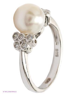 Кольцо BALEX. Цвет: серебристый, белый