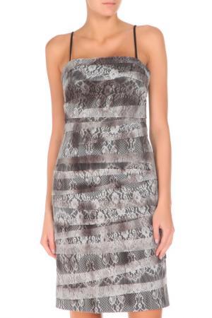 Платье Groupe JS. Цвет: серый