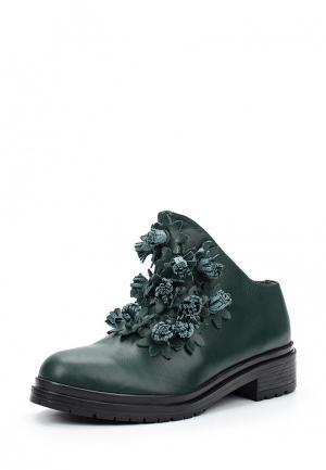 Ботинки Sprincway. Цвет: зеленый