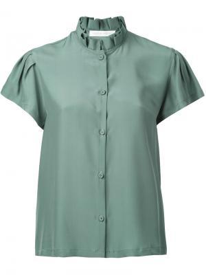 Рубашка Victoria Société Anonyme. Цвет: зелёный