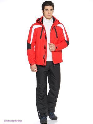 Костюм (Куртка + Брюки) Icepeak. Цвет: черный, красный, белый