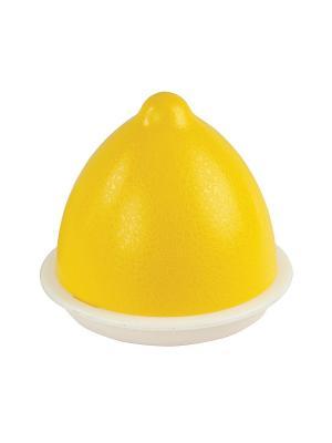 Ёмкость для лимона №2 Альтернатива. Цвет: белый, желтый