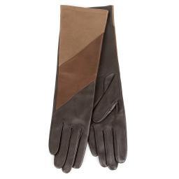 Перчатки  CELIA/DIAG_AGN/S темно-коричневый AGNELLE