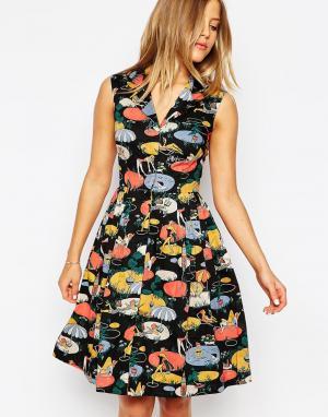 Emily and Fin Платье-рубашка с принтом & Jessica