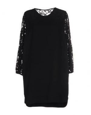 Короткое платье ..,MERCI. Цвет: черный