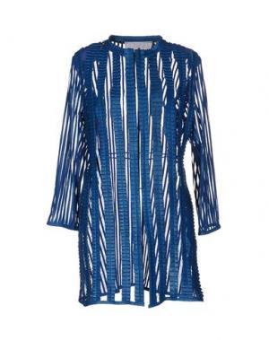 Легкое пальто CABAN ROMANTIC. Цвет: пастельно-синий