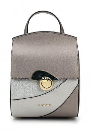 Рюкзак Cromia. Цвет: серебряный