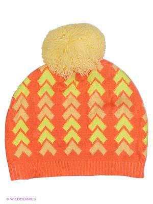 Шапка FLOBABY. Цвет: оранжевый