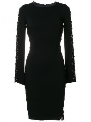 Платье с кольцом Murmur. Цвет: чёрный