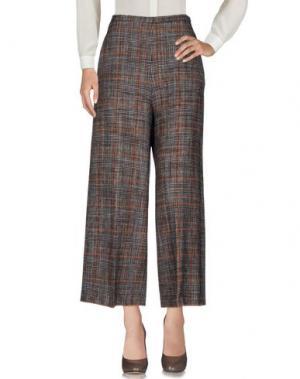 Повседневные брюки ALYSI. Цвет: темно-коричневый