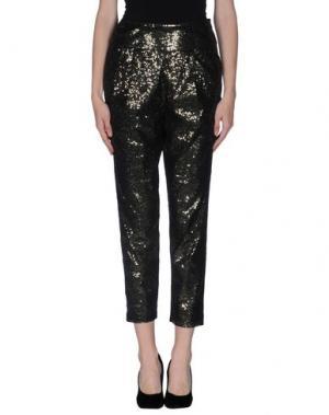 Повседневные брюки INTROPIA. Цвет: бронзовый