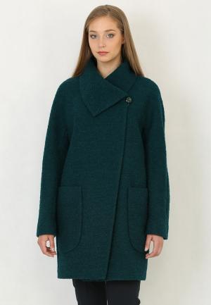 Пальто Trifo. Цвет: зеленый