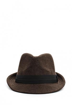 Шляпа Be.... Цвет: коричневый