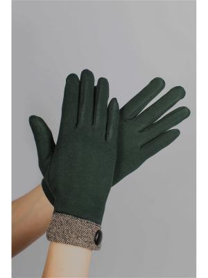 Перчатки Sophie Ramage. Цвет: зеленый