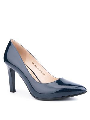 Туфли EMILIA ESTRA. Цвет: синий