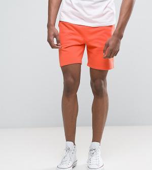 ASOS Оранжевые трикотажные шорты TALL. Цвет: оранжевый