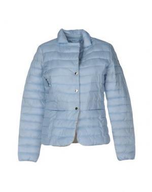Куртка YES ZEE by ESSENZA. Цвет: небесно-голубой