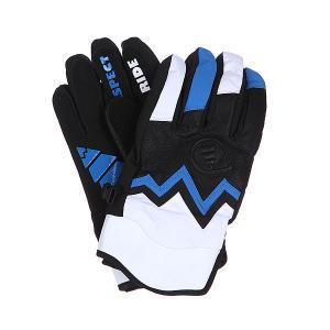 Перчатки сноубордические  Gloves Planet Black/Blue Picture Organic. Цвет: черный,синий