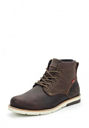 Ботинки Levis® Levi's®. Цвет: коричневый