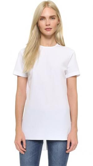 Рубашка Julia с пуговицами на спине Marie Marot. Цвет: белый