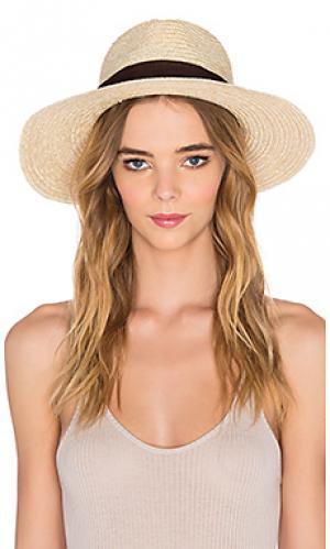 Шляпа федора willow Brixton. Цвет: кремовый