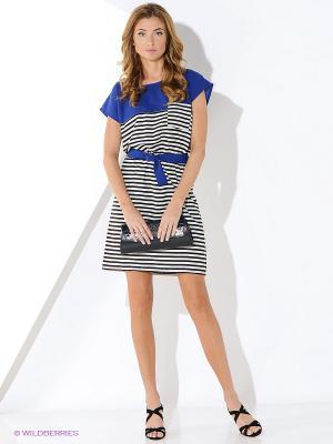 Платье Malvin. Цвет: синий