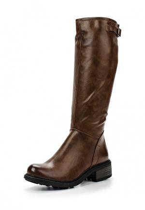 Сапоги Retro Shoes. Цвет: коричневый