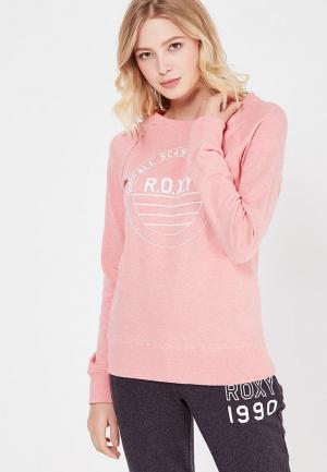 Свитшот Roxy. Цвет: розовый