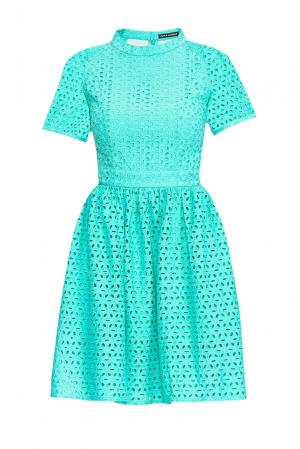 Платье из хлопка 167837 Paola Morena. Цвет: синий