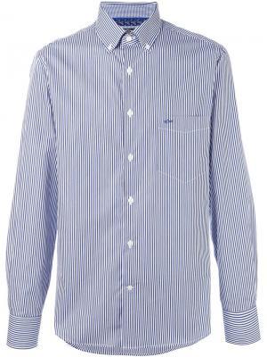 Рубашка в полоску Paul & Shark. Цвет: синий